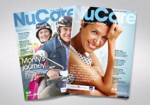 NuCare magazine covers