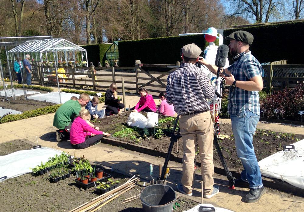 The Alnwick Garden filming community