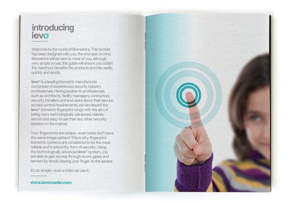 ievo brand magazine fingerprint