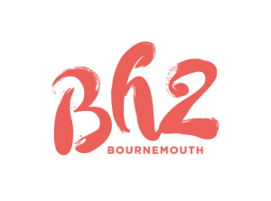 BH2 brand logo pink