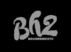 BH2 brand logo grey