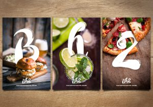 Campaign images for BH2 Bournemouth brand