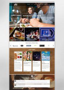 Responsive website design for BH2 Bournemouth