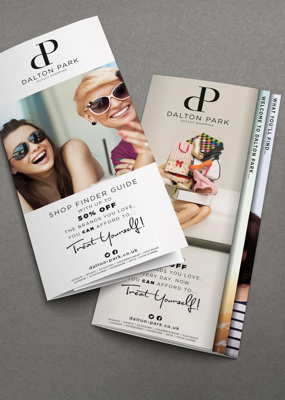 Dalton Park shopping brochure