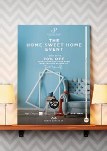 Dalton Park Home Sweet Home Event poster