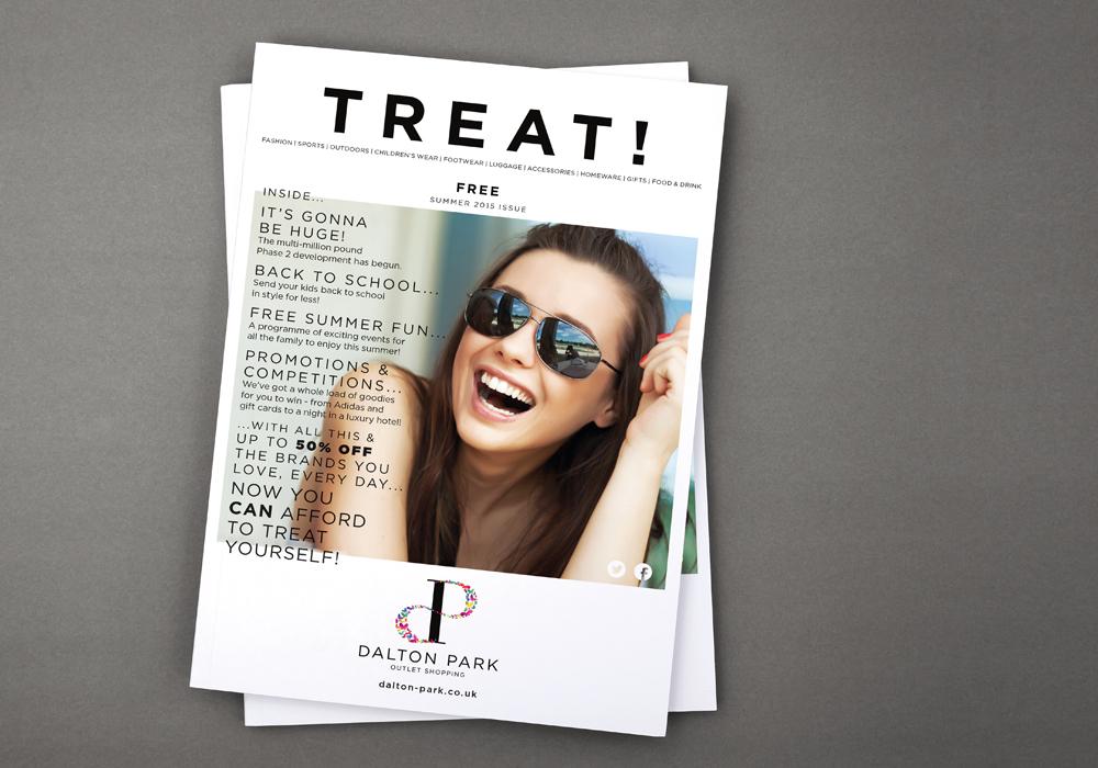 Dalton Park Treat magazine cover