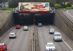 Join The Transport Revolution billboard