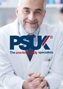 PSUK brand advertisement close up