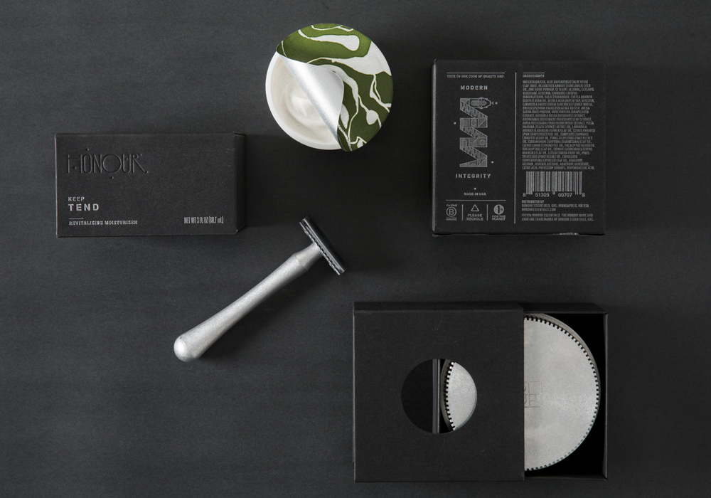 Honour skincare moisturiser packaging