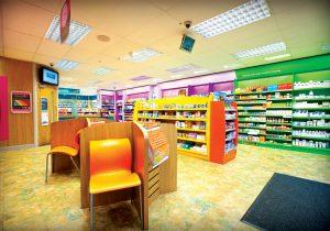 Inside Rowlands Pharmacy store