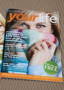 Rowlands Pharmacy magazine cover