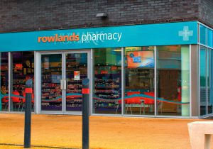 Rowlands Pharmacy front of store