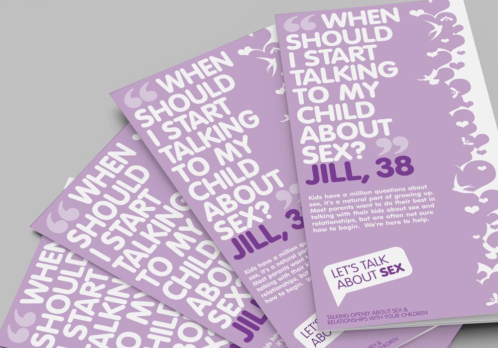NHS Let's Talk About Sex leaflets
