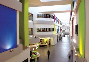 inside of East Durham College