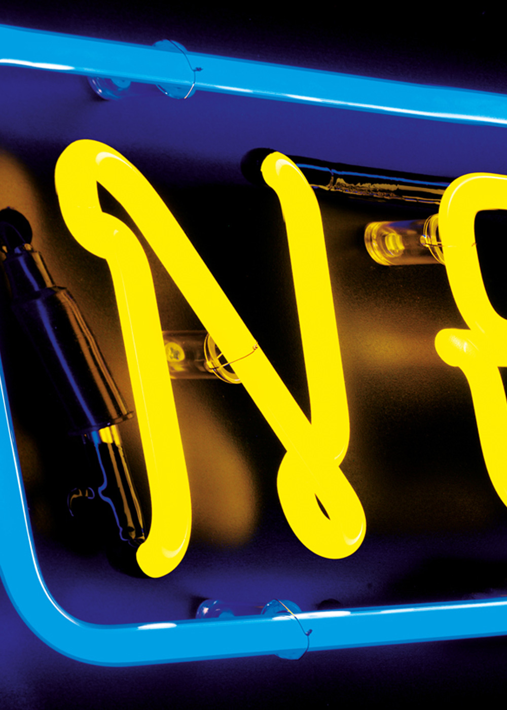 Close up image of NEEC logo