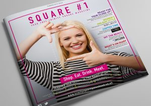 Trinity Square shopping centre magazine