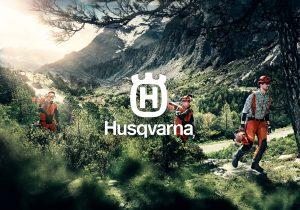 Husqvarna brand logo full size