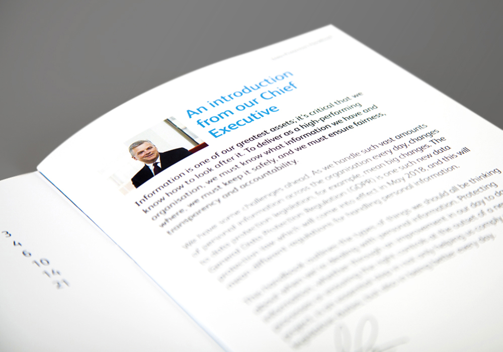 GDPR Network Rail brochure intro