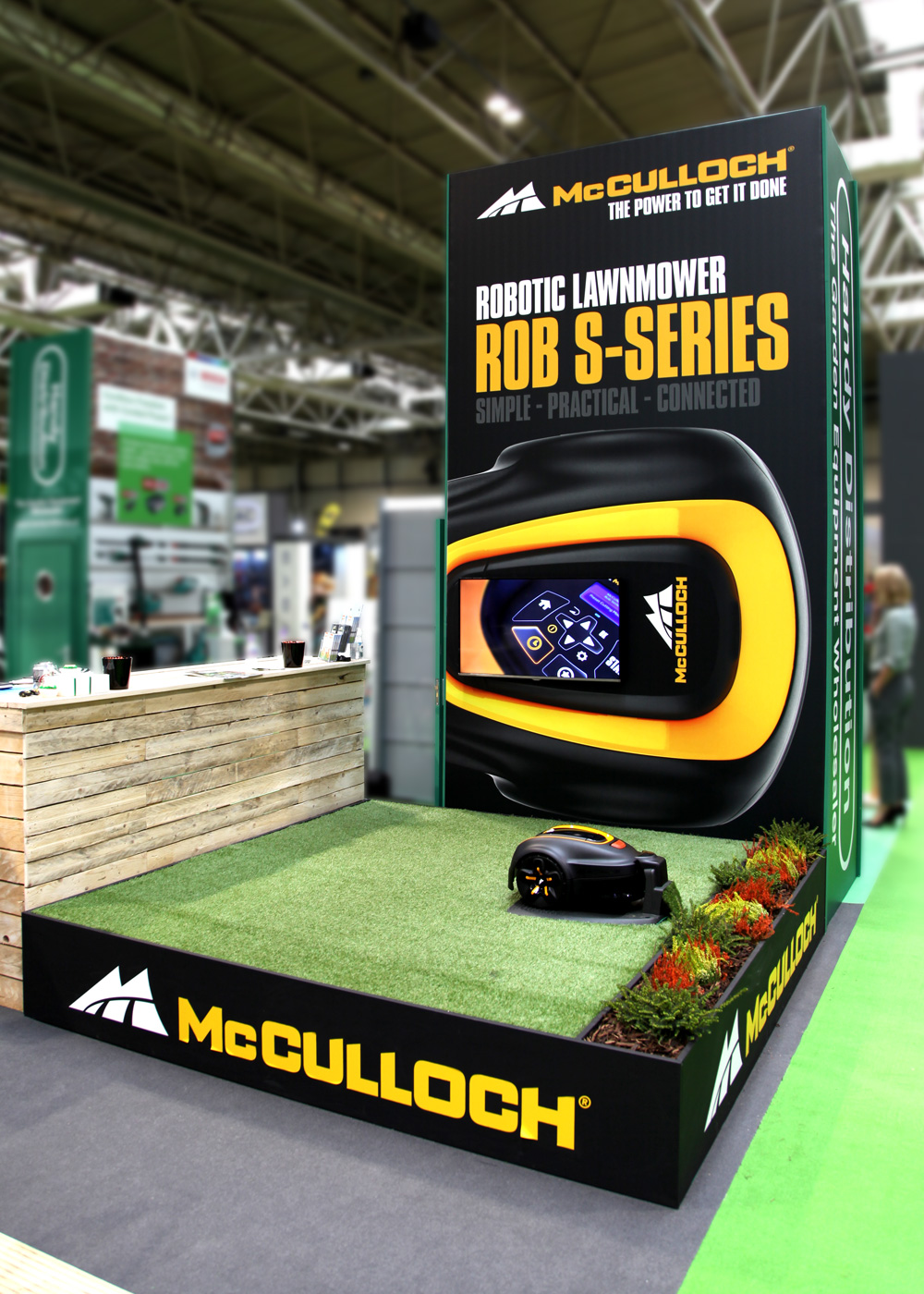 McCulloch GLEE Exhibition Stand