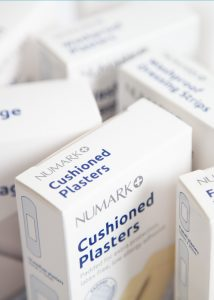 Numark first aid range packs close up